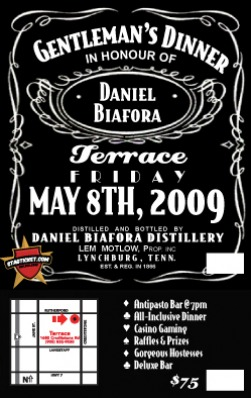 Stag Party Tickets, Bachelor Party Invitations - The Bachelor ...